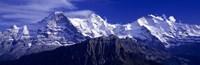 Swiss Mountains, Berner, Oberland, Switzerland Fine Art Print