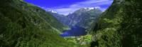 Geirangerfjord, Flydalsjuvet, More Og Romsdal, Norway Fine Art Print