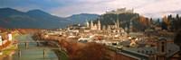 Cityscape Salzburg Austria Fine Art Print