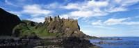 Dunluce Castle, Antrim, Ireland Fine Art Print