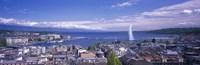 Lake Geneva, Geneva, Switzerland Fine Art Print