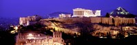 Acropolis at Night Fine Art Print
