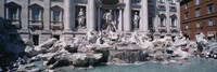 Fountain in front of a building, Trevi Fountain, Rome, Italy Fine Art Print