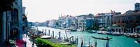 Boats and Gondolas, Grand Canal, Venice, Italy Fine Art Print