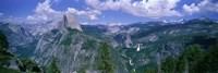Nevada Fall And Half Dome, Yosemite National Park, California Fine Art Print