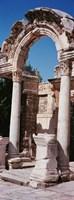 Turkey, Ephesus, building facade Fine Art Print