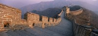High angle view of the Great Wall Of China, Mutianyu, China Fine Art Print