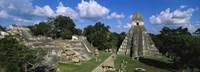 Ruins Of An Old Temple, Tikal, Guatemala Fine Art Print