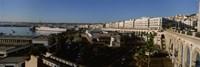 High angle view of a city, Algiers, Algeria Fine Art Print