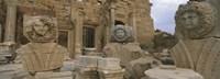 Statues in Leptis Magna, Libya Fine Art Print