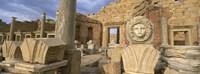 Old ruins, Leptis Magna, Libya Fine Art Print