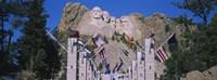 Statues on a mountain, Mt Rushmore, Mt Rushmore National Memorial, South Dakota, USA Fine Art Print