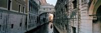 Bridge on a canal, Bridge Of Sighs, Grand Canal, Venice, Italy Fine Art Print