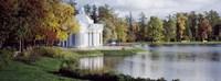 Grotto, Catherine Park, Catherine Palace, Pushkin, St. Petersburg, Russia Fine Art Print