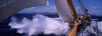 Sailing in Antigua Framed Print