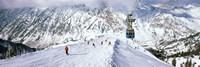 Snowbird Ski Resort, Utah Framed Print