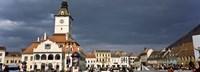 Town Center, Brasov, Transylvania, Romania Fine Art Print