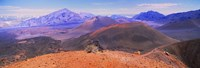 Volcanic landscape, Maui, Hawaii Fine Art Print