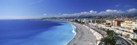 Promenade Des Anglais, Nice, France Fine Art Print