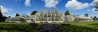 The Curvilinear Glass House, The National Botanic Gardens, Dublin City, Ireland Fine Art Print