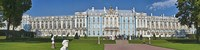 Facade of Catherine Palace, St. Petersburg, Russia Fine Art Print