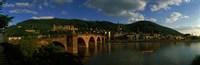 Bridge, Heidelberg, Germany Fine Art Print