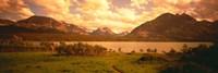 Saint Mary Lake, Montana, USA Fine Art Print