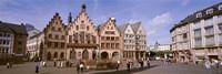 Roemer Square, Frankfurt, Germany Fine Art Print
