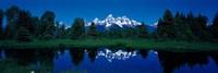 Snake River & Teton Range Grand Teton National Park WY USA Fine Art Print