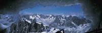 Cave Mt Blanc France Fine Art Print