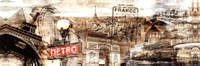 Visiting France Fine Art Print