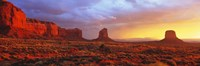 Sunrise, Monument Valley, Arizona, USA Framed Print