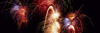 Fireworks Display, Banff, Alberta, Canada Fine Art Print