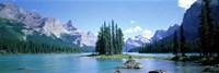 Maligne Lake Near Jasper, Alberta, Canada Fine Art Print