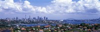 Cityscape, Harbor, Sydney, Australia Fine Art Print