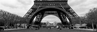 Low section view of a tower, Eiffel Tower, Paris, France Fine Art Print