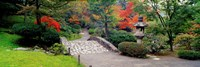 Stone Bridge, The Japanese Garden, Seattle, Washington State Fine Art Print