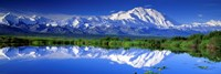 Alaska Range, Denali National Park, Alaska, USA Framed Print