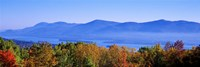 Lake George, Adirondack Mountains, New York State, USA Framed Print