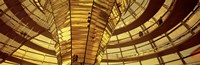 Glass Dome from Interior, Reichstag,Berlin, Germany Fine Art Print