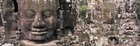 Stone Faces Bayon Angkor Siem Reap Cambodia Fine Art Print