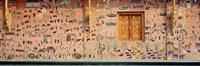 Wall mural, Wat Xien Thong, Luang Prabang, Laos Fine Art Print