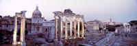 Roman Forum at dusk, Rome, Italy Fine Art Print