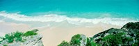 Surf on the shore, Bermuda Fine Art Print