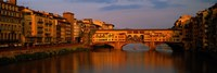 Ponte Vecchio Arno River Florence Italy Framed Print