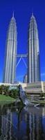 Petronas Towers Kuala Lumpur Malaysia Fine Art Print