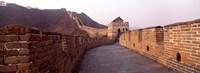 Path on a fortified wall, Great Wall Of China, Mutianyu, China Fine Art Print
