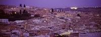 Fes, Morocco at dusk Fine Art Print
