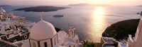 View of Santorini, Greece Fine Art Print