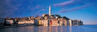 City on the waterfront, Rovinj, Croatia Fine Art Print